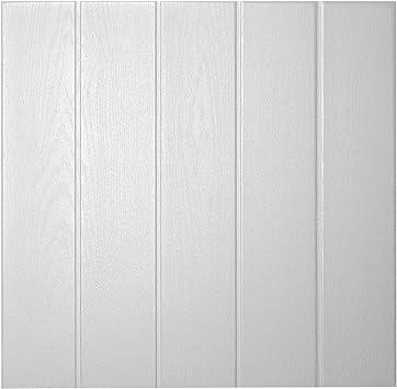 Decosa Deckenplatten Athen In Holz Optik 80 Platten 20 M2 Deckenpaneele In Weiss Decken Paneele Aus Styropor 50 X 50 Cm Amazon De Baumarkt