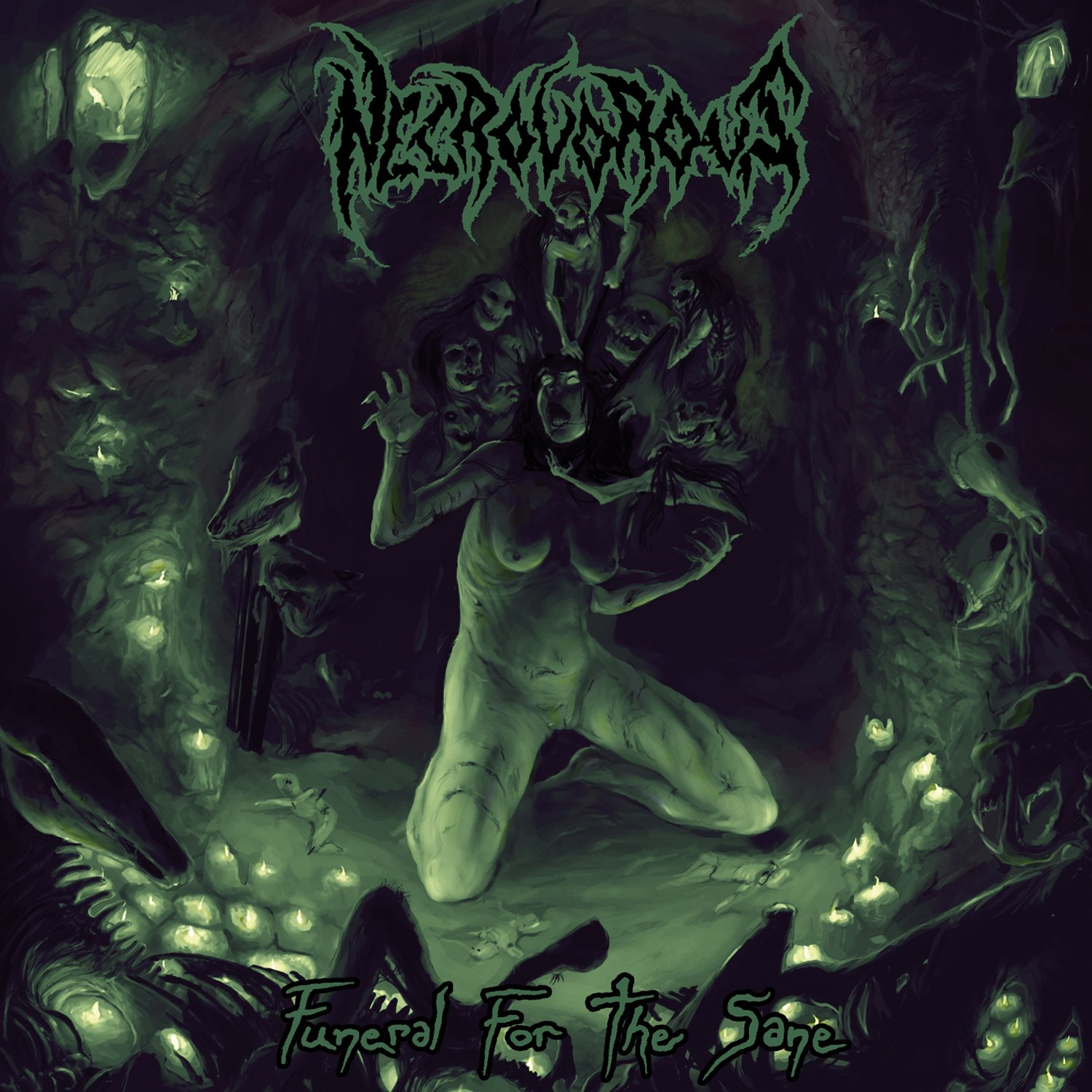 CD : Necrovorous - Funeral For The Sane (Jewel Case Packaging)