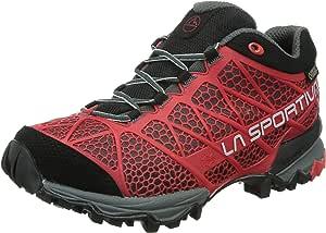 La Sportiva Primer GTX Surround - Zapatillas de trekking para hombre - gris/rojo Talla 42 2015: Amazon.es: Deportes y aire libre