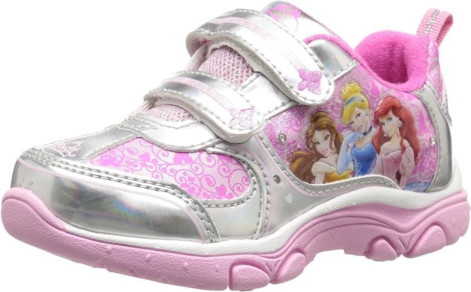 Disney Princess Light-Up Sneaker, Pink