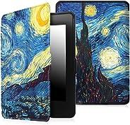 Capa Kindle Paperwhite Gerações Anteriores (Não Compatível com Novo Kindle Paperwhite 10ª Geração) Ultra Leve Van Gogh
