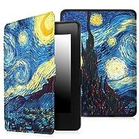 Capa Case Kindle Paperwhite WB® Auto Liga/Desliga  - Ultra Leve Van Gogh