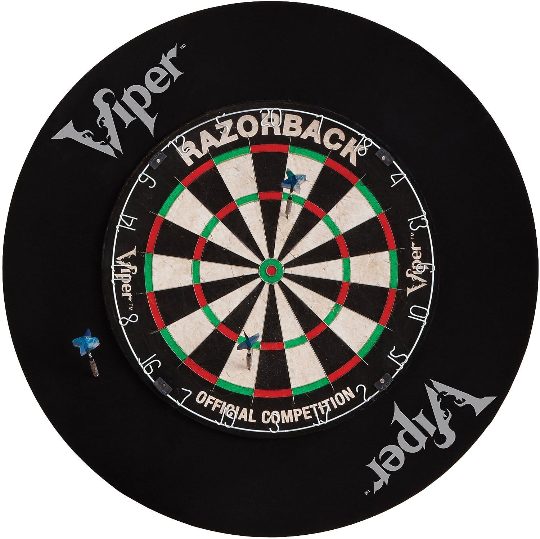 Amazon.com : Viper Defender Backboard U0026 Sisal/Bristle Steel Tip Dartboard  Bundle: Deluxe Set (League Dartboard, Defender Backboard, Edge Throw Line,  ...