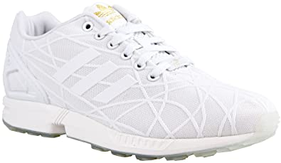brand new 16ec7 aa189 ... MEN S ADIDAS ORIGINALS ZX FLUX 3D PRINT VINTAGE WHT (8 D(M) US ...