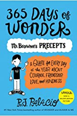 365 Days of Wonder: Mr. Browne's Precepts Paperback