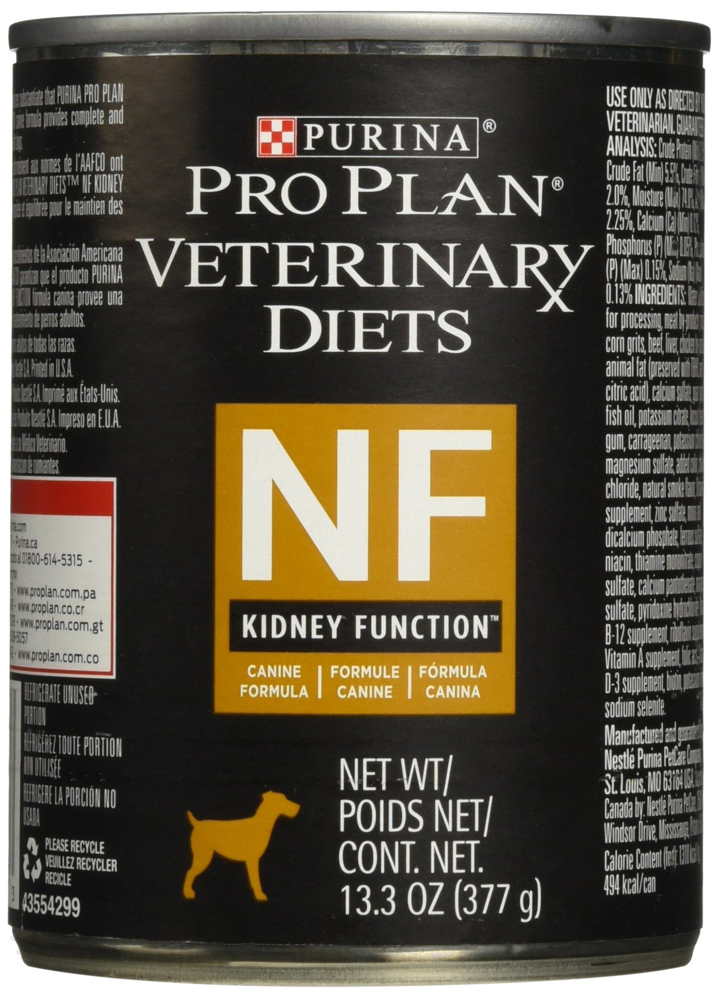 Purina NF KidNey Function Canine Formula Canned Dog Food 12/13.3 oz