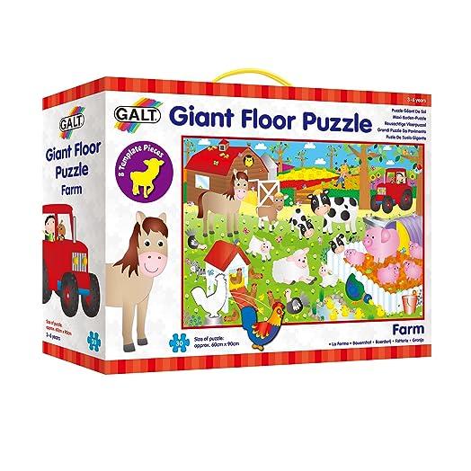 Elegant Galt Toys Giant Floor Puzzle Farm