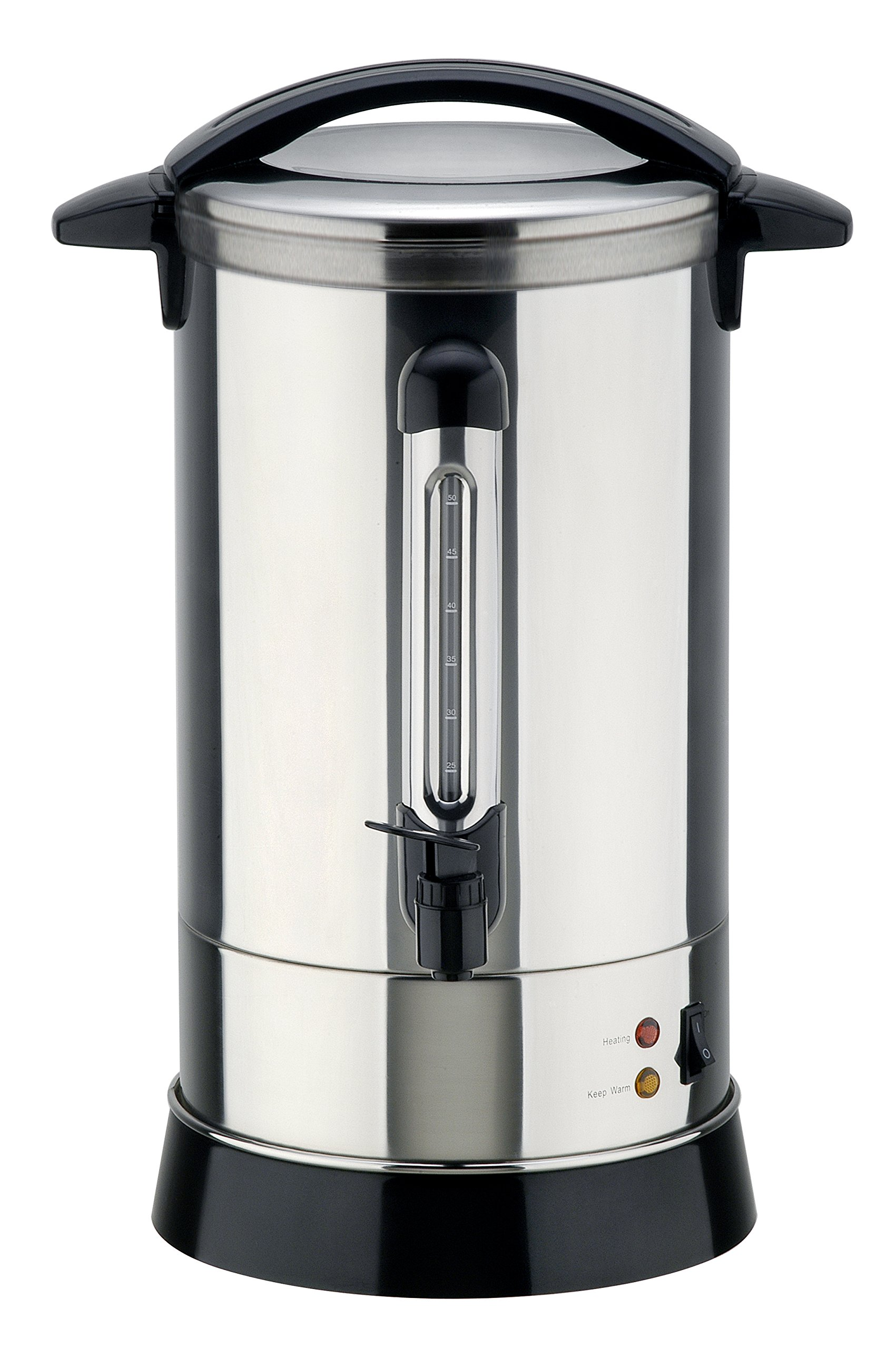 Double Walled Hot Water Urn with automatic function (30, 40, 50, and 100 Cup Sizes) (30 cups (6.5 Liters))