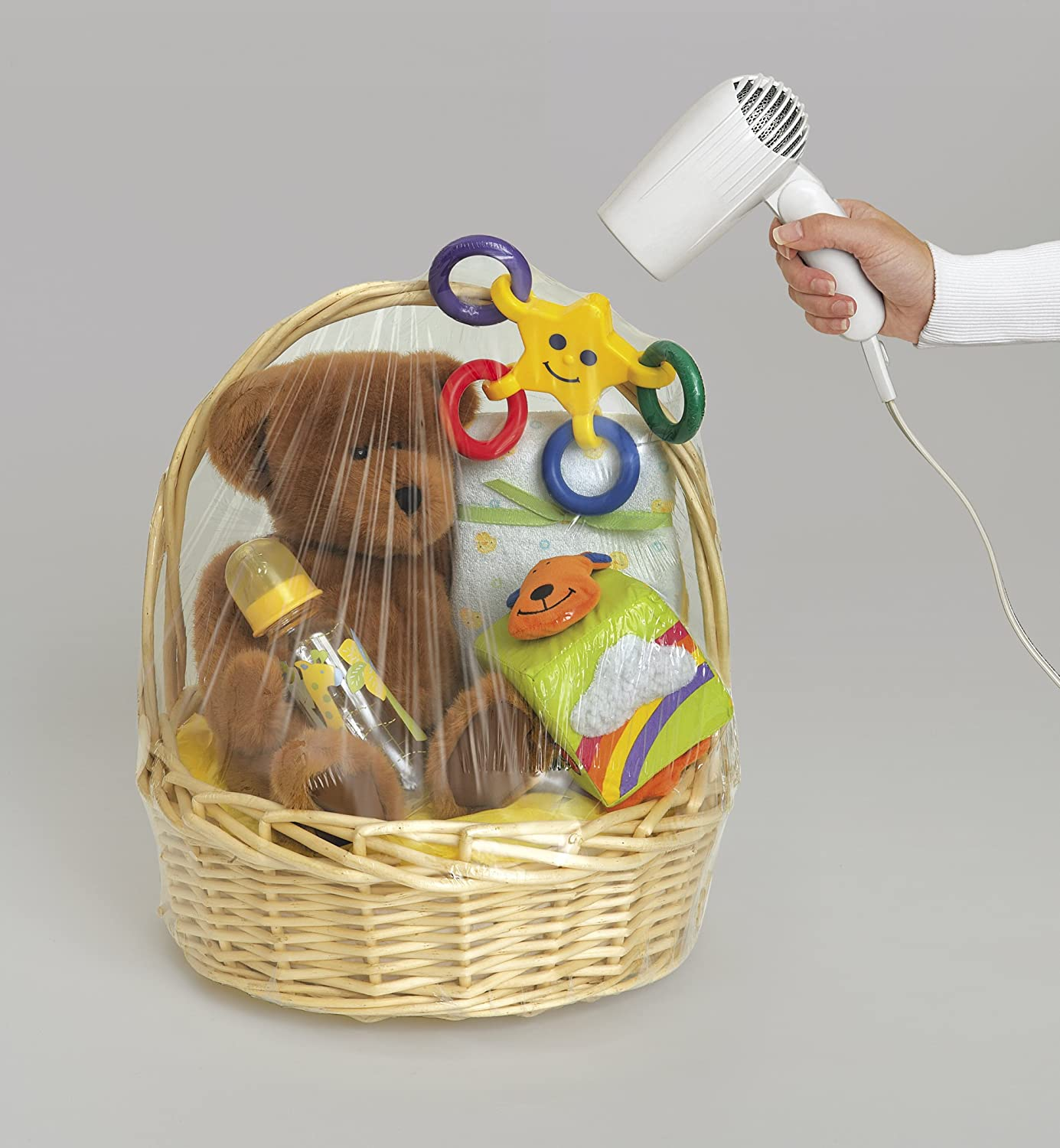 where to buy plastic wrap for gift baskets