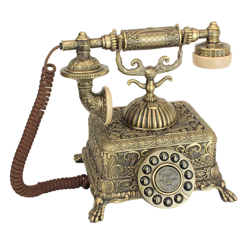 Antique Phone - Grand Emperor 1933 Rotary Telephone - Corded Retro Phone - Vintage Decorative Telephones Design Toscano PM1933