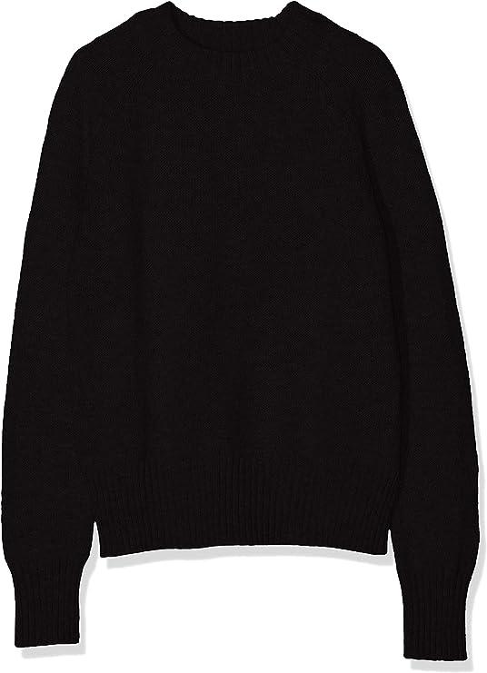 TALLA 40. Marca Amazon - MERAKI Boxy Crew Neck - suéter Mujer
