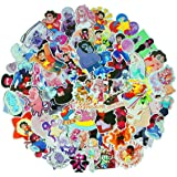 Meet Holiday Steven Universe Sticker 63 PCS PVC Waterproof Stickers for Laptop, Notebooks, Car, Bicycle, Skateboards, Luggage Decoration (Steven Universe)
