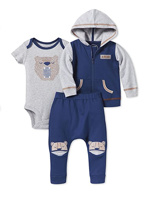 d0cc3e82c Image Unavailable. Image not available for. Color: Lamaze Organic Baby Baby  Organic 3 Piece Hoodie Set ...