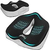 Feagar Cojin Coxis de Espuma Memoria Portátil,Cojines para sillas de Oficina de Espuma de Memoria, Coche, Sillas Gaming…