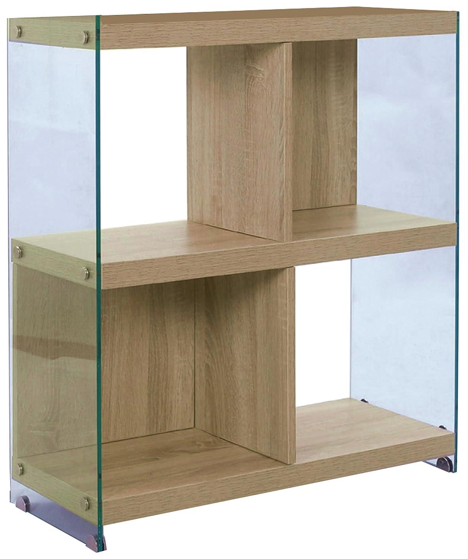 WINK DESIGN Nancy Libreria, 4 Vani, Legno, Rovere, 71x30x80 cm Tomasucci 2762