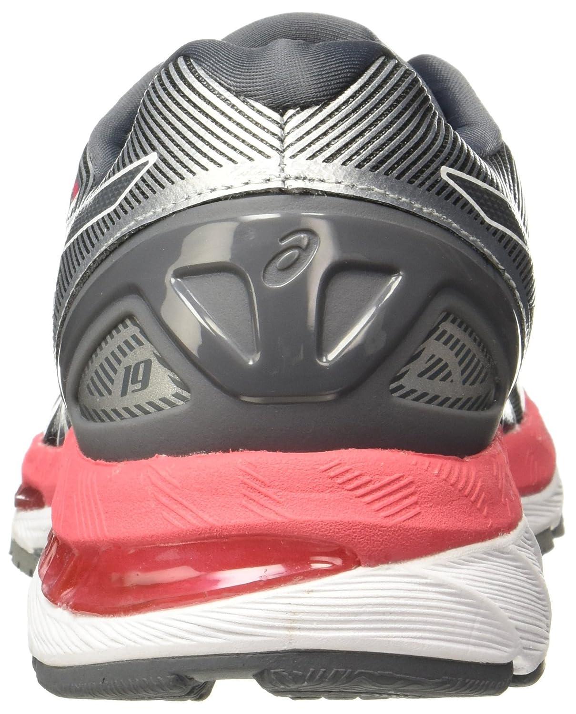 ASICS Women's Gel-Nimbus 19 US|Carbon/Rouge Running Shoe B0739ZYVK1 6.5 B(M) US|Carbon/Rouge 19 Red/White 7b8bfe