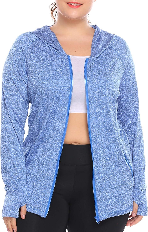 ONGASOFT Women Running Yoga Sweatshirts with Two Side Pocket Jacket Coat White