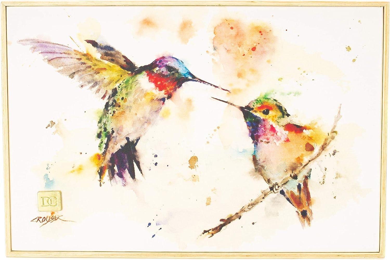 DEMDACO Big Sky Carver The Lovebirds Hummingbirds Wall Art