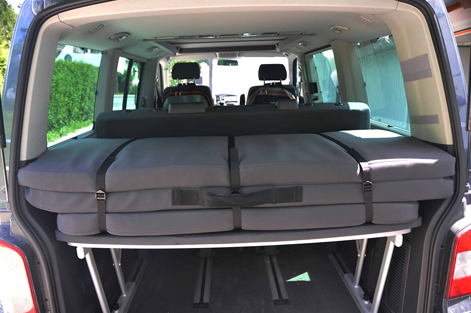 Campinie - Cama Plegable para VW T5 Multivan y California Beach: Amazon.es: Coche y moto