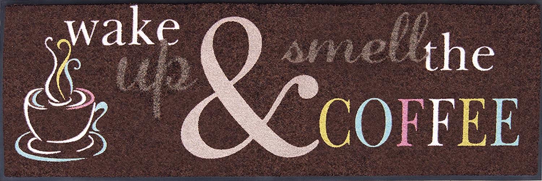 Sehr hochwertiger Küchenläufer Läufer Teppich Größe ca. 60 x 180 cm   Küchenmatte   Dekoläufer für Küche und Bar   Teppich Läufer Küche   waschbare Küchenläufer   Küchendeko Modell Wak
