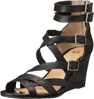 fdde5f49da1d6 Image Unavailable. Image not available for. Color  FRYE Women s Rain  Strappy Wedge ...