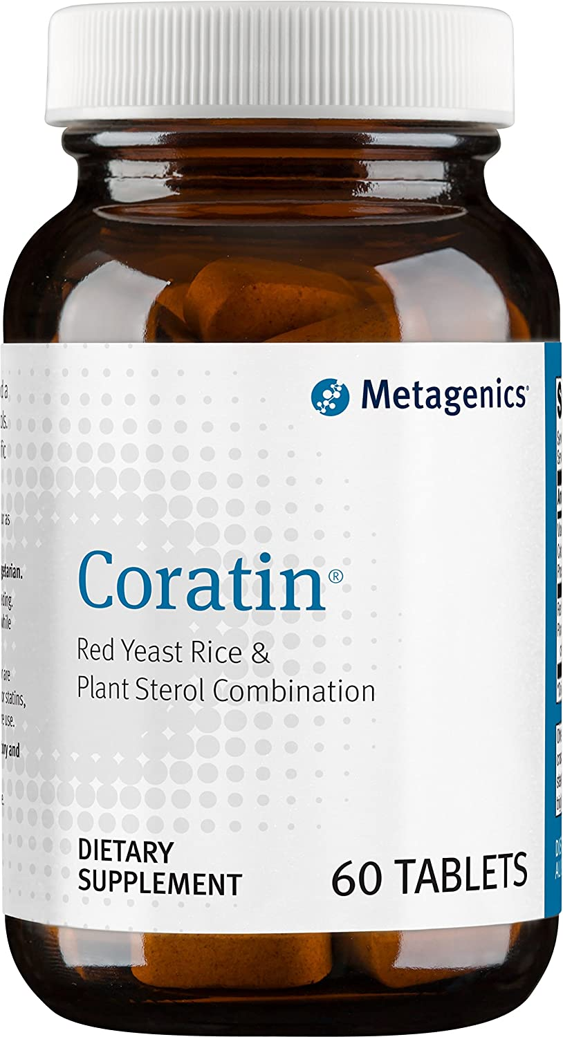 Metagenics Coratin® – Red Yeast Rice & Plant Sterol Combination – 60 servings
