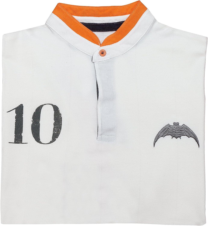 Coolligan - Polo de Fútbol Retro 1919 Chés - Color - Blanco - Talla - 3XL: Amazon.es: Ropa y accesorios