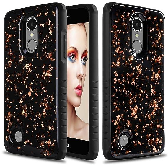 Elegant Choise Compatible LG Aristo 3 Case, LG Tribute Empire Case, LG  Phoenix 4 Case, LG Aristo 2 / Fortune 2 / Risio 3 / Rebel 3 / LV3 2018  Case,