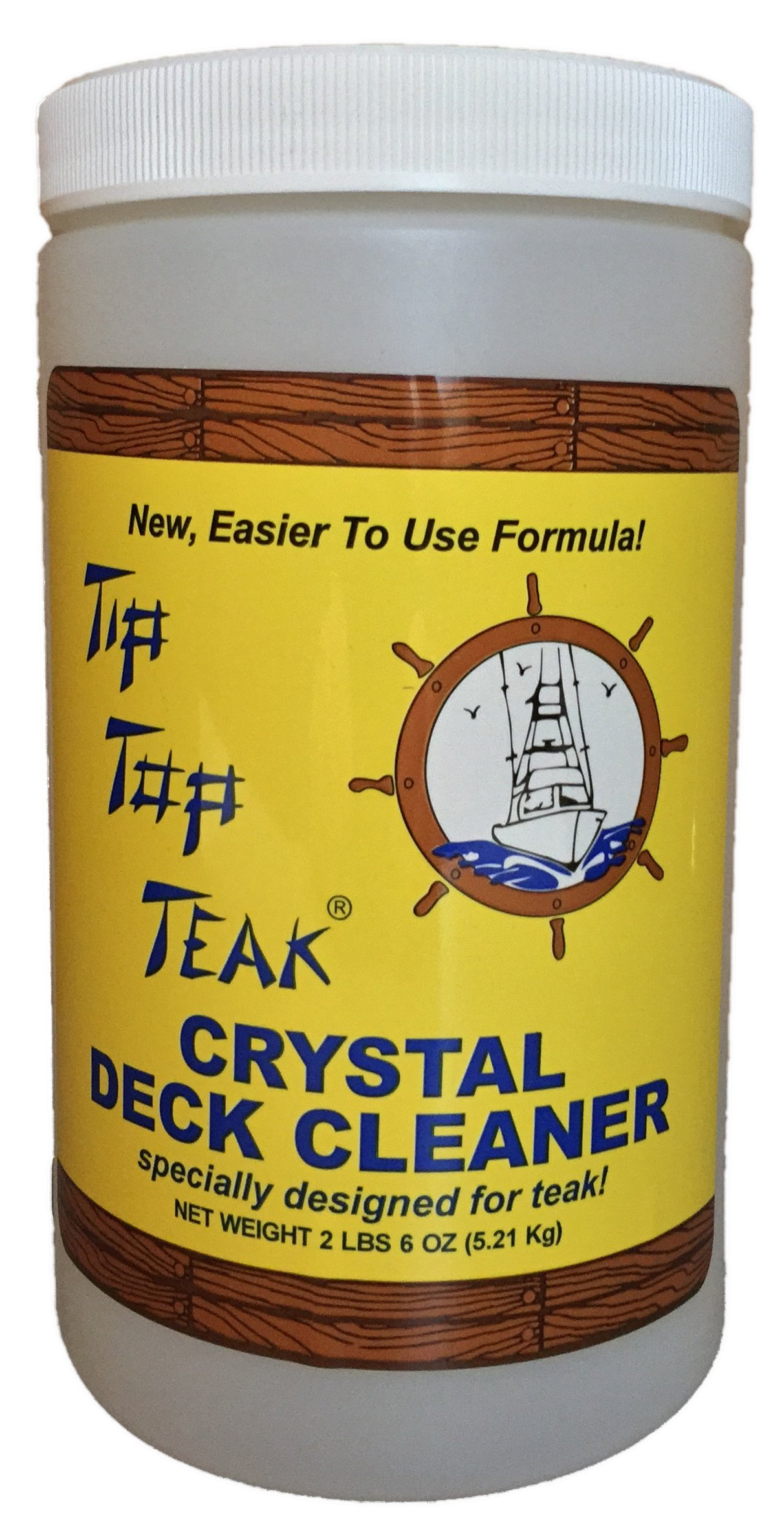 Tip Top Teak Crystal Teak Cleaner by Tip Top Teak