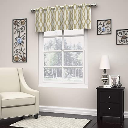 Eclipse Dixon Curtain Valance, Cafe