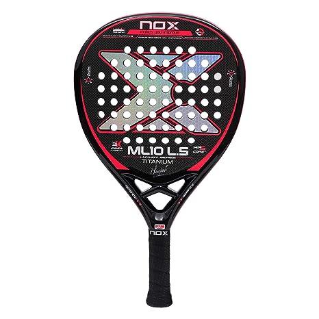 Nox ML10 Luxury L5 Titanium Palas, Adultos Unisex, Negro, 375 ...