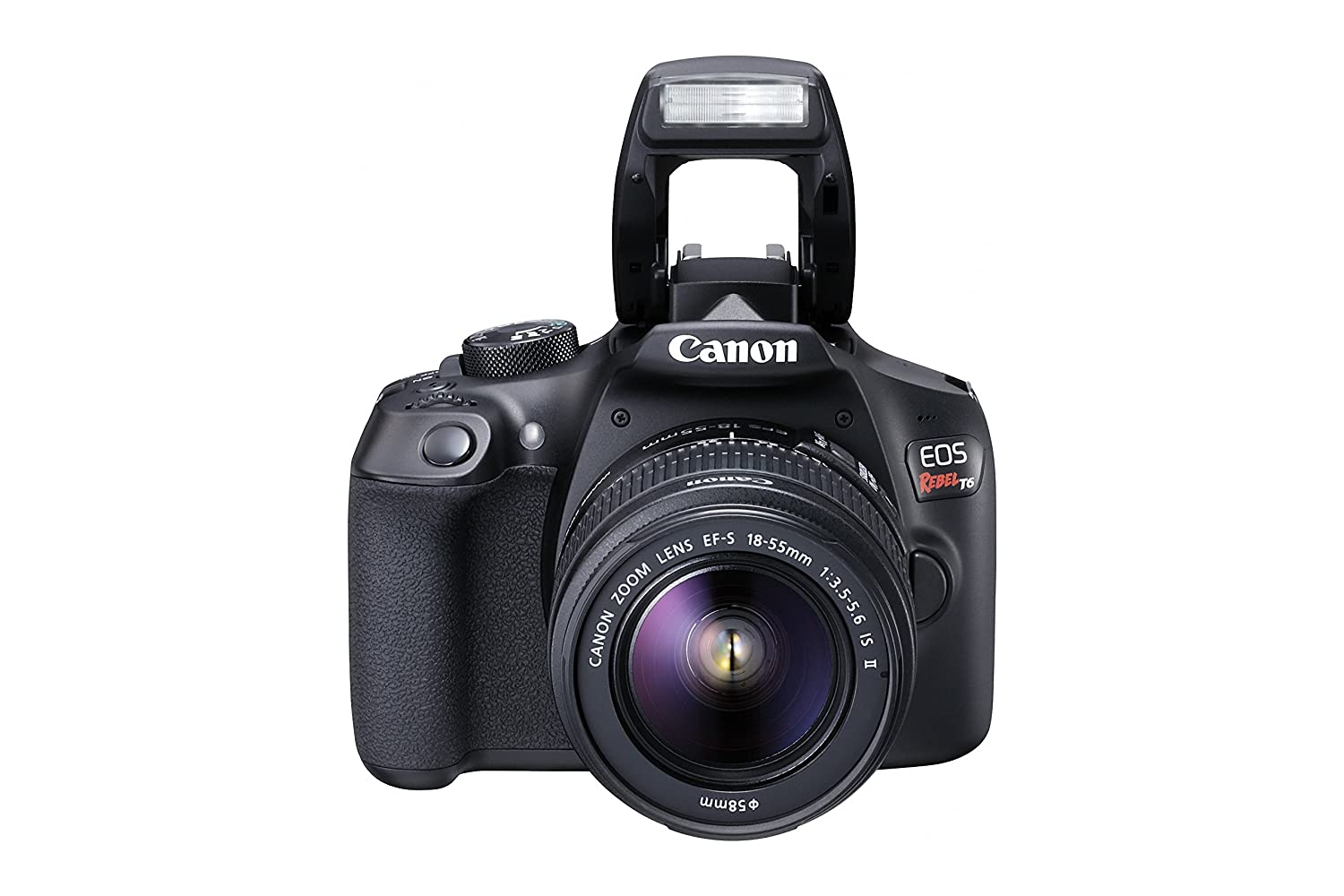 Camera Buy Dslr Camera Canada amazon canada canon eos rebel t6 digital slr camera kit with ef s 18 55mm f3 5 6 is ii lens black