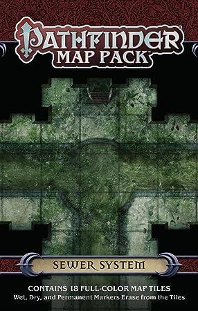Pathfinder Map Pack: Sewer System: Engle, Jason A., Staff, Paizo: Amazon.es: Juguetes y juegos