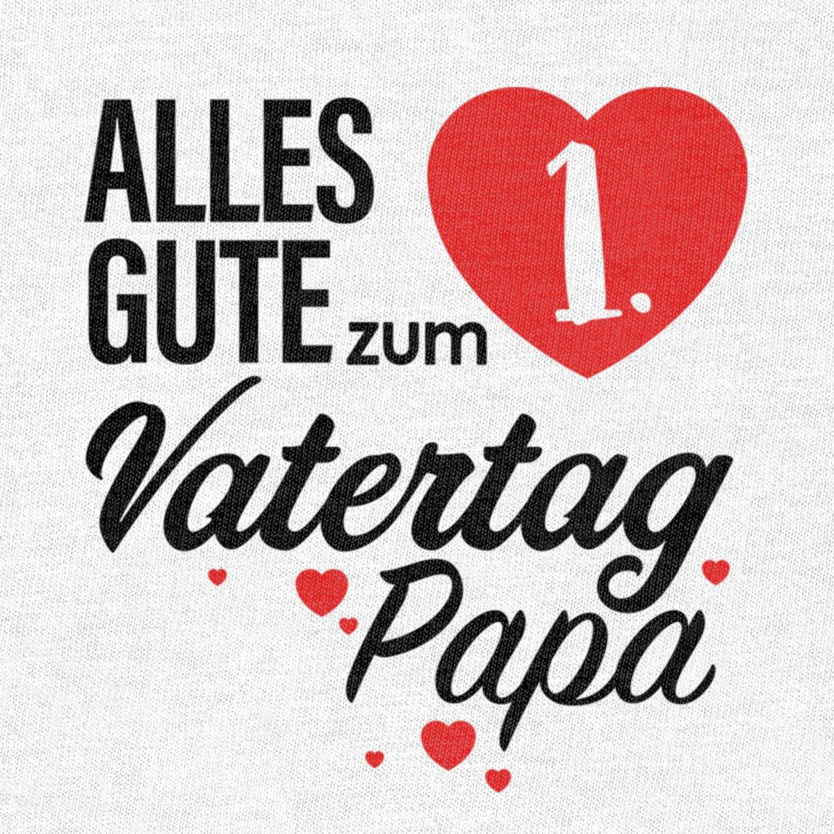 Shirtgeil Vatertagsgeschenk Alles Gute Zum 1 Vatertag Papa Baby Body Kurzarm Body