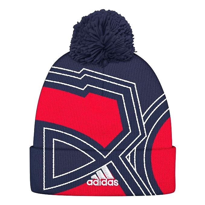 Amazon.com   NHL Montreal Canadiens Cuffed Pom Knit Hat 8820324c6ea1