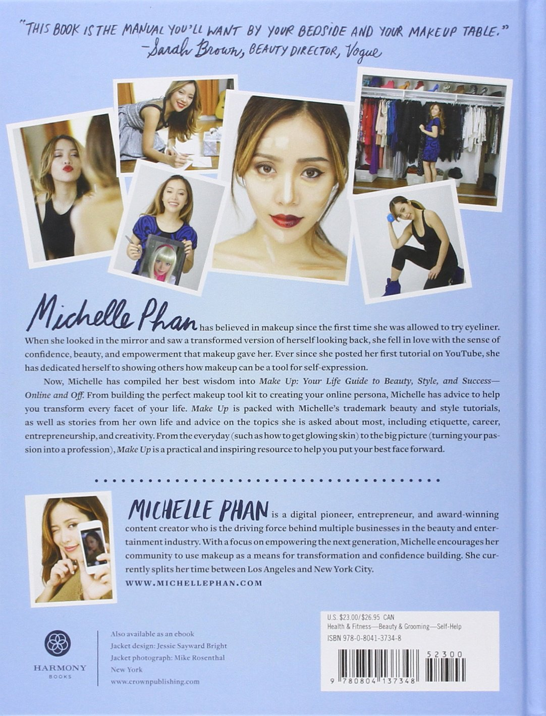 Make Up: Your Life Guide to Beauty, Style, and Success--Online and Off: Michelle Phan: 8601410717599: Amazon.com: Books