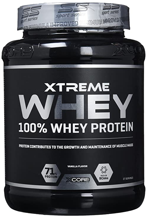Xcore Nutrition Xtreme Whey Protein SS, Vainilla - 900 gr