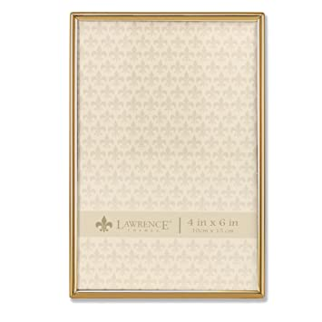 Amazoncom Lawrence Frames 4x6 Simply Gold Metal Picture