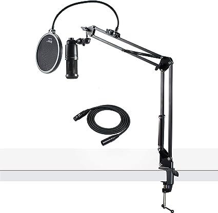 Amazon.com: Audio-Technica AT2020 - Micrófono de estudio de ...