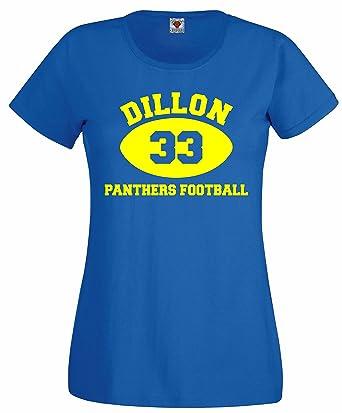 46f9ea4a14e6b Bullshirt Dillon Panthers Sudadera con Capucha para Mujer es diseño  con-Camiseta del Equipo de fútbol.  Amazon.es  Ropa y accesorios