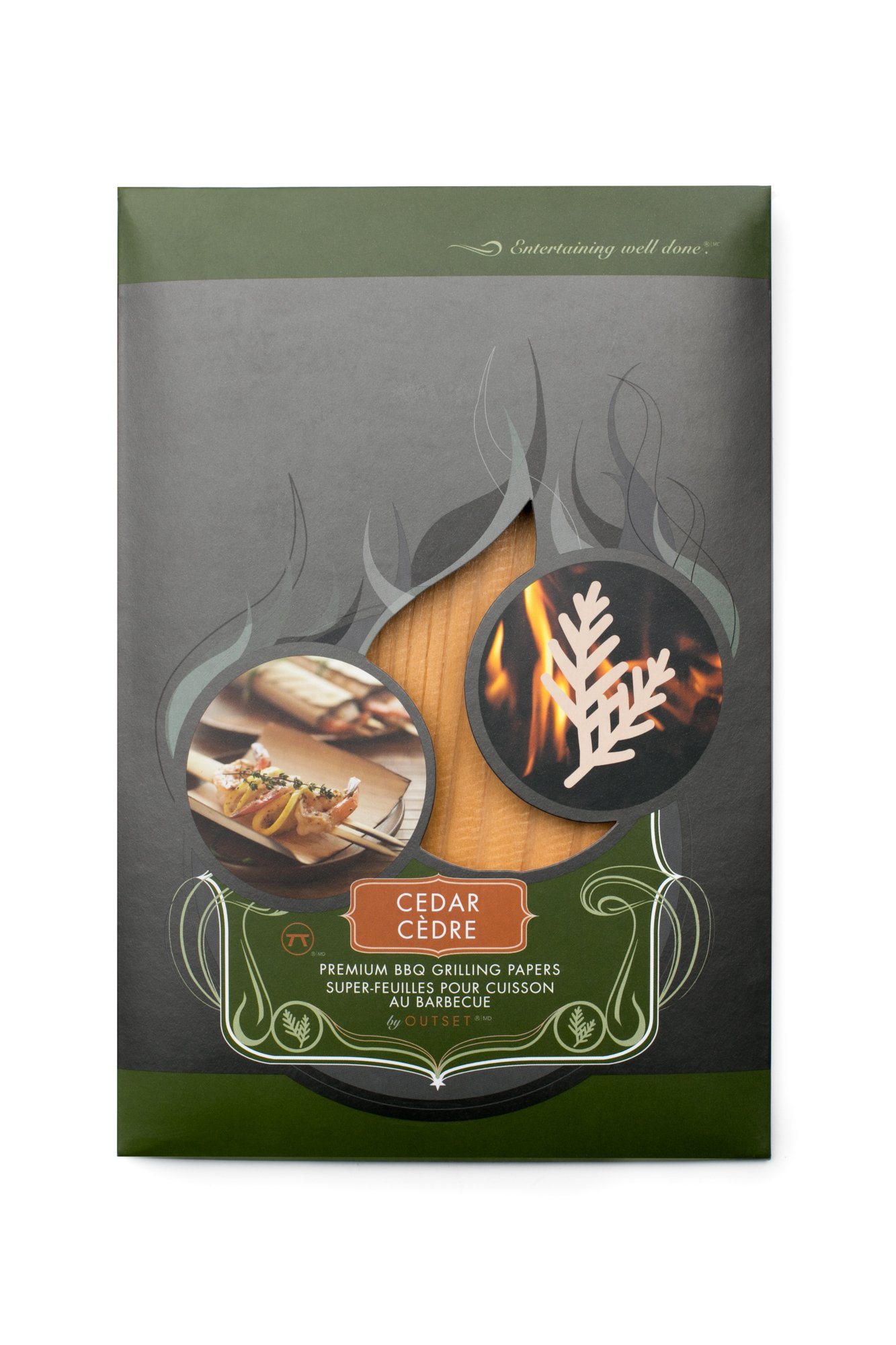 Outset F751 Cedar Grilling Papers, Set of 6 by Outset (Image #5)