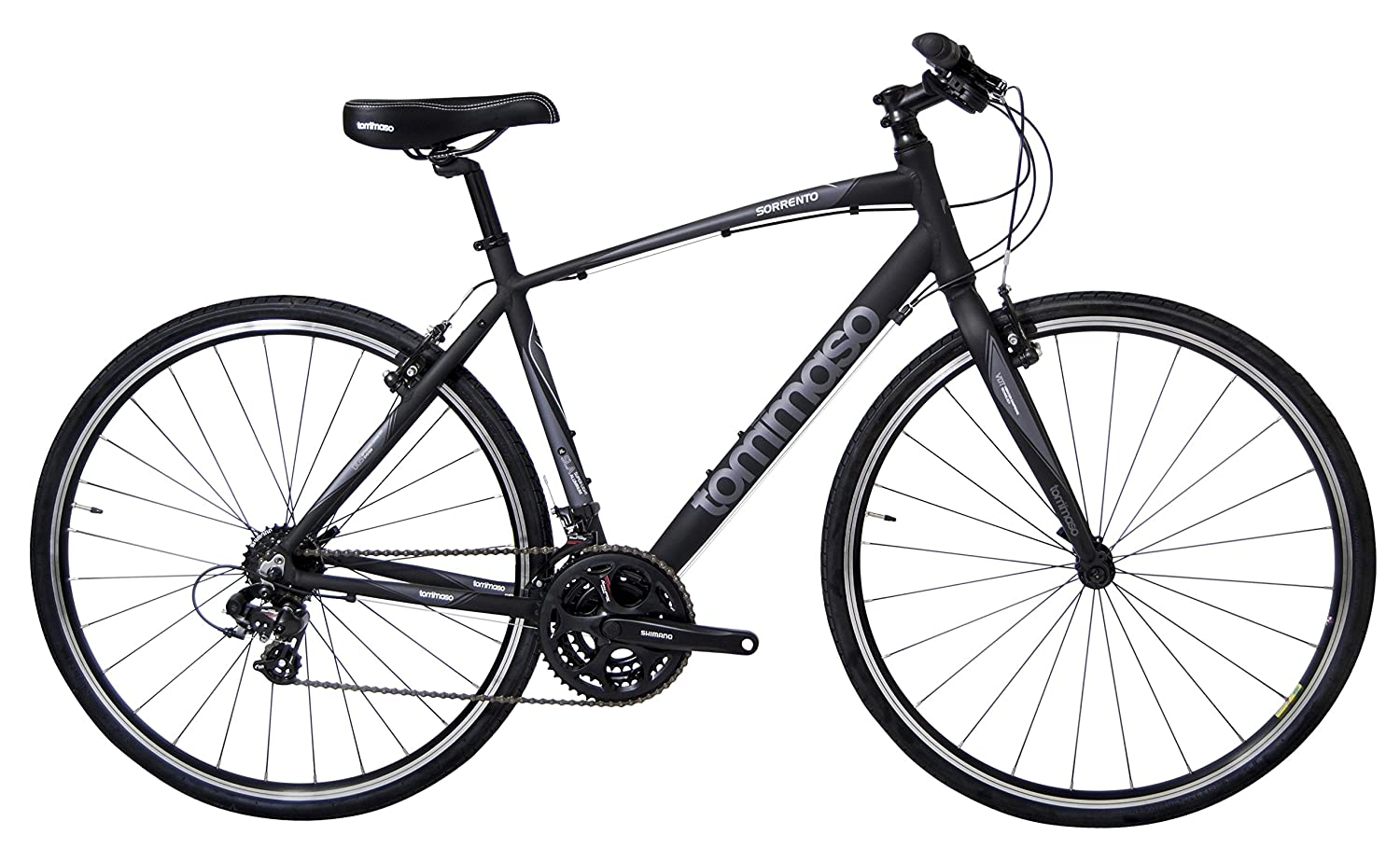 Shimano Tourney Hybrid Bike Best Flat Bar Touring Bike