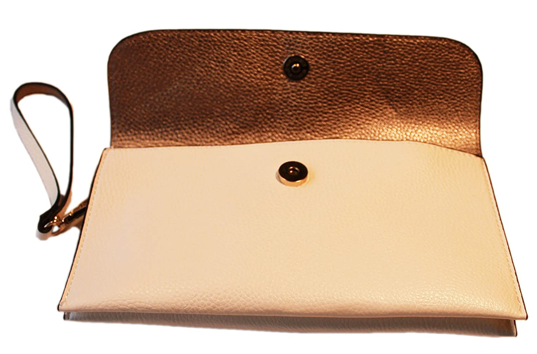 OmniPresent OmniPresent OmniPresent Gifts Wendehandtasche Reversible 2 in 1 Handtasche (mit separaten Kupplungsgeldbeutel enthalten. 2 Farben. Weiß Gold B06XKMDQ3Q Henkeltaschen Rich-pünktliche Lieferung 262b34