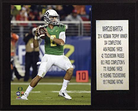 db31d2953 Image Unavailable. Image not available for. Color  C I Collectables NCAA  Oregon Ducks Men s Football Marcus Mariota ...