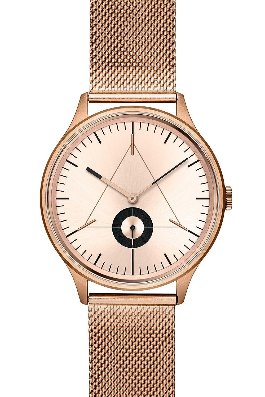 Cronometrics uhr watch The Architect S6 rosegoldfarbend mit rosegoldenem Milanesearmband