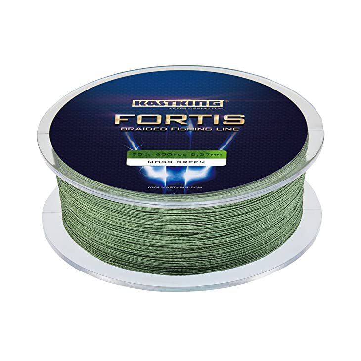 KastKing Fortis Braided Fishing Line, New Braid Line with Improved Formula, Stronger, Smoother, Fade Resistant