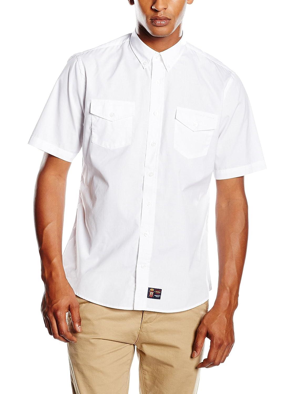 Spagnolo Camisa Hombre Blanco M (03): Amazon.es: Ropa y accesorios