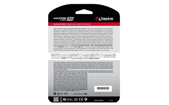 45ba5d846f82 Amazon.in  Buy Kingston SSDNow UV400 120GB SATA 3 2.5-inch Solid State  Drive (SUV400S37 120G) Online at Low Prices in India