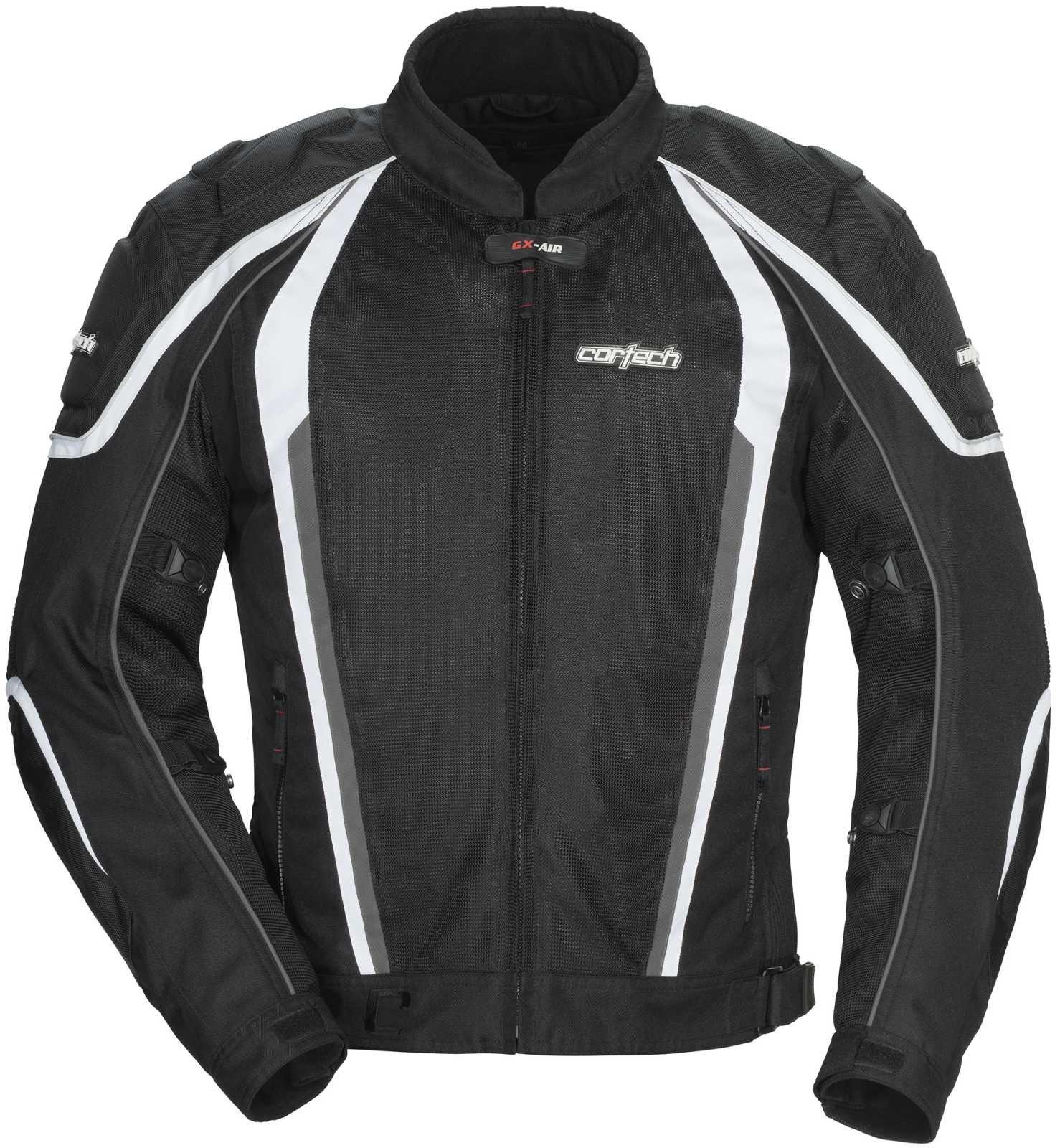 Cortech GX Sport Air 4.0 Adult Mesh Motorcycle Jacket - Black / Large