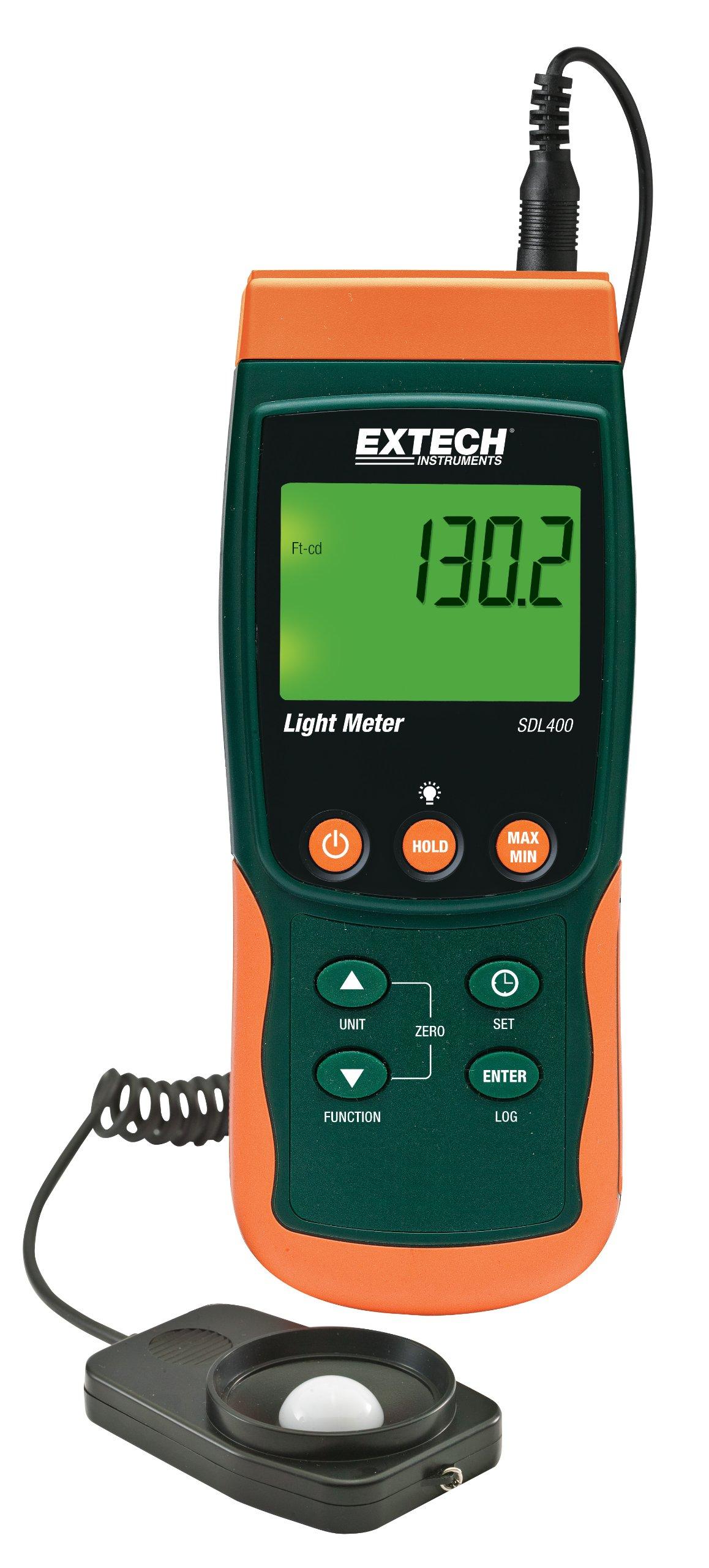 Extech SDL400 Light Meter SD Logger